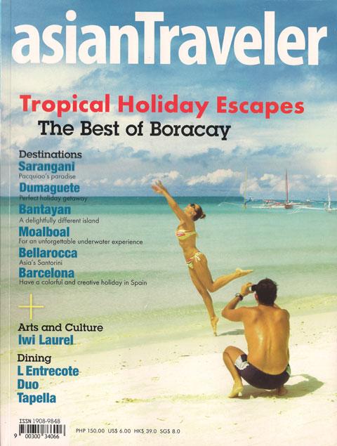 Featured: asianTraveler Magazine 2010 Image