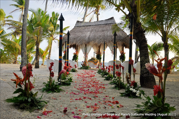 Wedding Site In Coco Grove Beach Resort